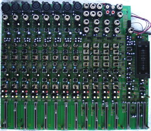 (SPARE PART) BEHRINGER 20 Channel Audio Mixer MX 2004A Main PCB