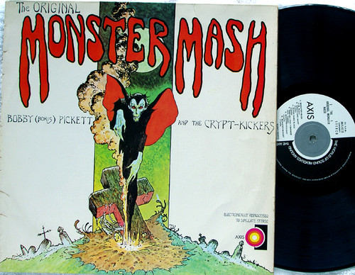 Novelty Horror Pop - BOBBY PICKETT AND THE CRYPT KICKERS Monster Mash Vinyl 1973