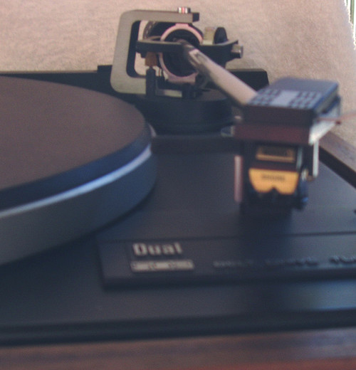 1975-76 DUAL (Germany) Model CS 502-1 Turntable With Shure M95ED