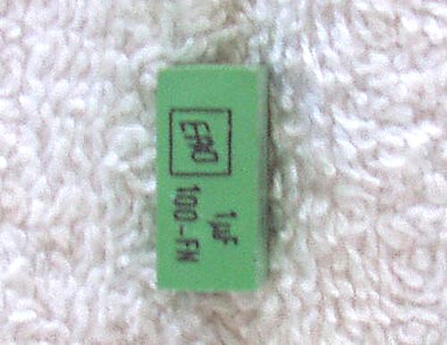 "ERO (German) FN Film Polyester ""Block"" Capacitor 1uF 100V 10% USED"