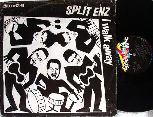 """Dance Pop - SPLIT ENZ I Walk Away 12"""" Vinyl 1984"""