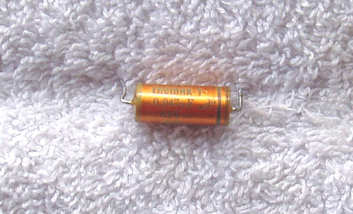 ERO (German) Precision FKF Capacitor 0.047uF (47nF) 63V 1% USED