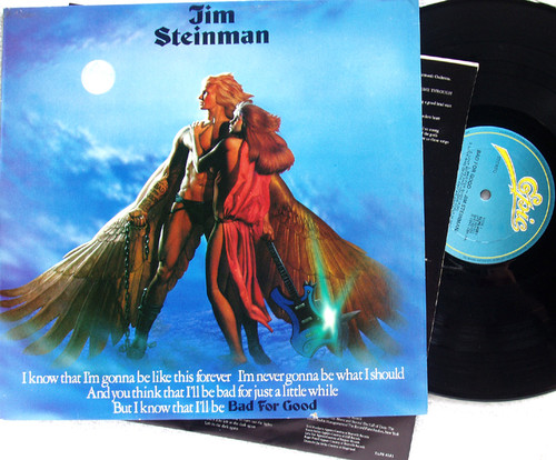 Arena Rock  - JIM STEINMAN Bad For Good  Vinyl 1981