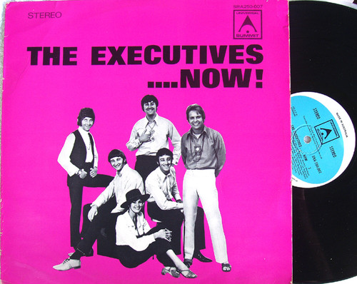 Psychedelic Pop Funk - THE EXECUTIVES .... Now!  Vinyl 1972