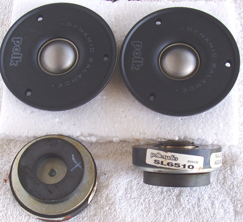 "POLK AUDIO SL6510 Tweeter ""Kit Set"" (Set of 2) SPARE PARTS"