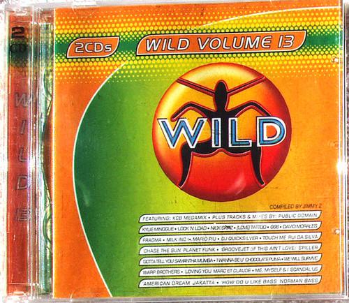 Hi NRG House Trance - WILD VOLUME 13 2x CD 2001
