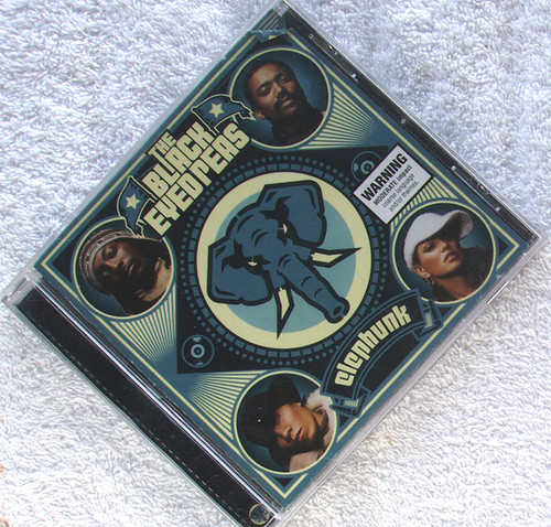 RnB Soul Funk - THE BLACK EYED PEAS Elephunk CD 2003