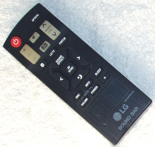 LG Sound Bar Remote Control Model: COV30748146 (ONLY) TESTED/WORKING