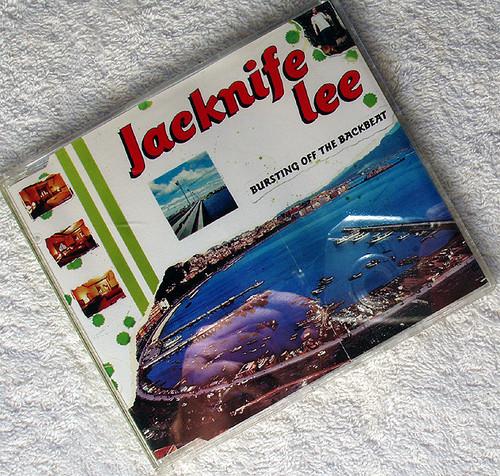 Downtempo Synth Pop - JACKNIFE LEE Bursting Off The Backbeat CD Single 1999