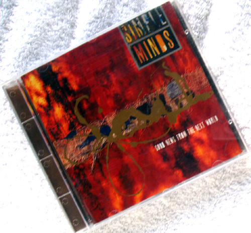 Alternative Rock Synth Pop  - SIMPLE MINDS Good News From The Next World CD 1995