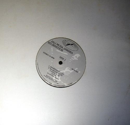 African Folk Traditional Jazz - JALI MUSA JAWARA Soubindoor Vinyl 1988