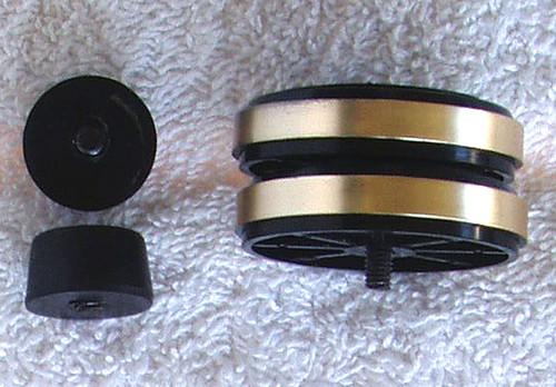 SPARE PART - TEAC Tuner Model: TX110 Set Of Feet (4)