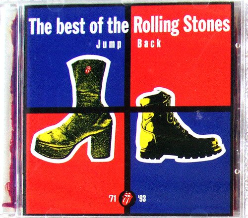 Blues Psych Rock - ROLLING STONES The Best Of (Jump Back 1971 ~ 1993) CD 1993