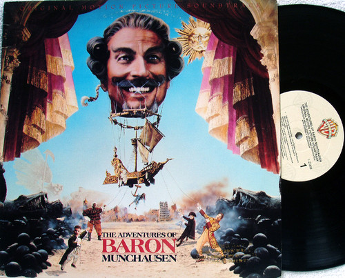 (Classical) Film Soundtrack - MICHAEL KAMEN The Adventures Of Baron Munchausen Vinyl 1988