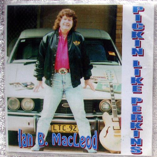 Rockabilly - IAN MACLEOD Pickin Like Perkins EP CD (Plastic Sleeve) 2000