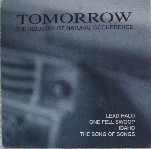 Emo Rock -  TOMORROW The Industry Of Natural Occurrence EP CD (Card Sleeve) 1997