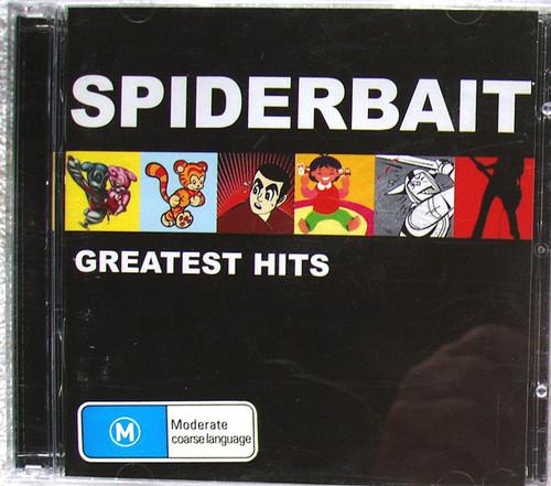 Alternative Rock - SPIDERBAIT Greatest Hits CD & DVD 2005