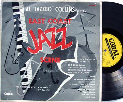 "American ""Modern"" Jazz - AL ""JAZZBO"" COLLINS East Coast Jazz Scene Volume 1  Vinyl 1956"