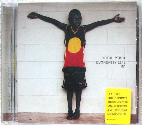 Alternative Tribal Rock - YOTHU YINDI Community Life EP CD 2000