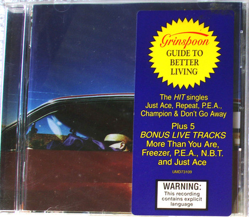 Alternative Rock - GRINSPOON Guide To Better Living CD 1997