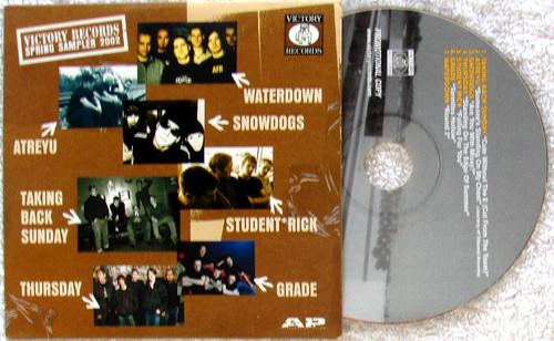 Hardcore Punk Rock - VICTORY RECORDS Spring Sampler CD (Card Sleeve) 2002