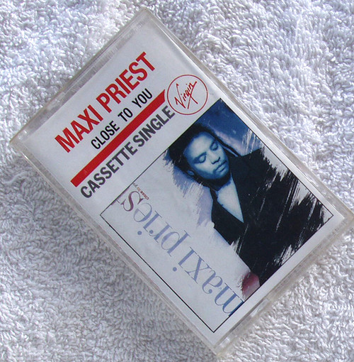 Reggae Pop - MAXI PRIEST Close To You Cassette Single 1990