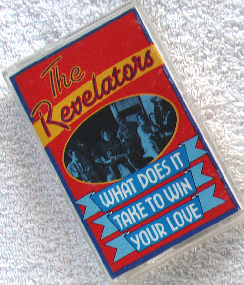 Funk Soul Blues - THE REVELATORS What Does It Take (To Win Your Love) Cassette Single 1991