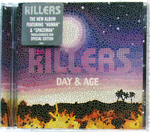 New Wave Indie Rock - THE KILLERS Day & Age CD 2008