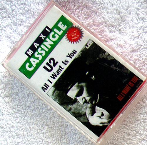 Alternative Rock - U2 All I Want Is You Cassette Maxi Single 1989