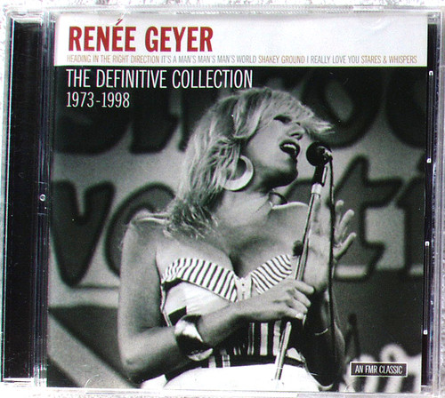 Funk Soul Pop Blues - RENEE GEYER The Definitive Collection 1973 ~ 1998 (Compilation) CD 2004