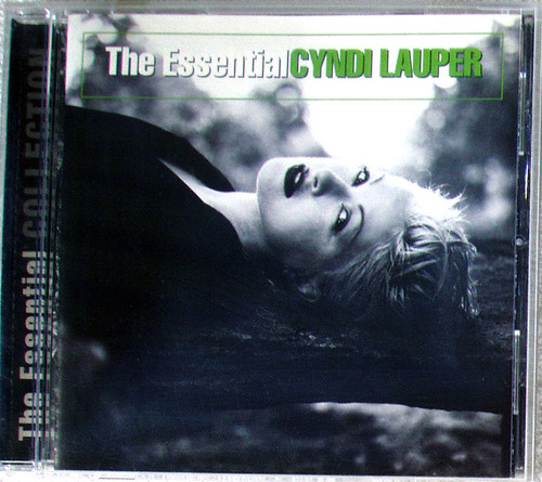 New Wave Synth Pop - CYNDI LAUPER The Essential (Compilation) CD 2004