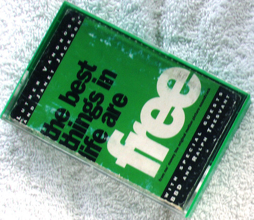 Garage House - VANDROSS & JACKSON With Friends Best Things In Life Are Free  Cassette EP 1992