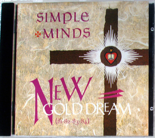 Alternative Rock Synth Pop  - SIMPLE MINDS New Gold Dream 81 ~ 84 CD