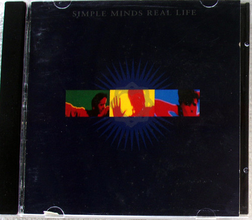 Alternative Rock Synth Pop  - SIMPLE MINDS Real Life CD 1991
