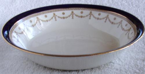 "ALFRED MEAKIN #1867 ""Bleu De Roi"" English Chinaware - 7.25"" (18.5cm) Soup Bowl"