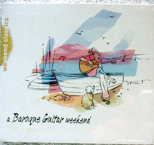 Classical Guitar - A BAROQUE GUITAR WEEKEND (Compilation) CD 2004 NEW