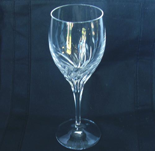 Replacement BAVARIAN NACHTMANN Lead Crystal Long Stem Goblet  (1)