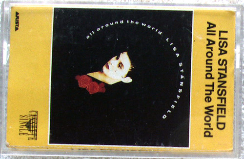 House Synth Pop - LISA STANFIELD All Around The World Cassette Single 1992