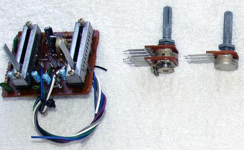 SPARE PART - MARANTZ Stereo Amplifier Model: PM 310 Pot Set