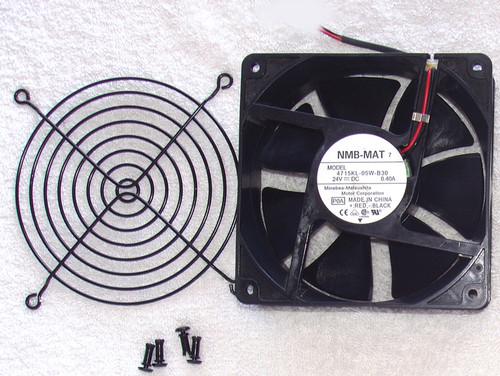 Cooling Fan NMB 4715KL 108CFM 24V DC Axial Mount