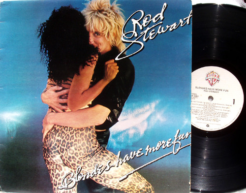 Pop Rock - ROD STEWART Blondes Have More Fun Vinyl 1978