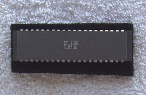Integrated Circuit (Unknown Manufacturer) SF 1668 Unknown Function