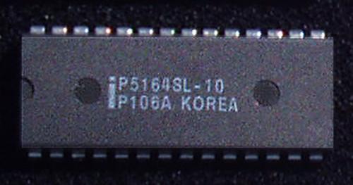 Integrated Circuit STATIC RAM INTEL 64K (CMOS 64K 8x8 100nS) New Old Stock