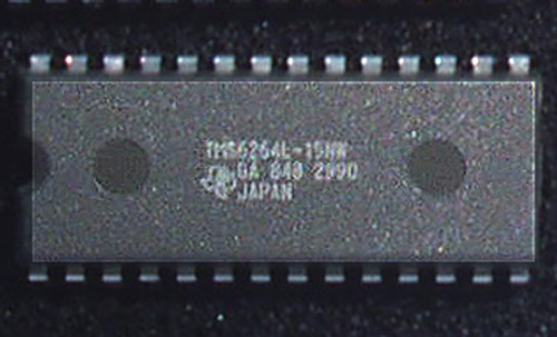 Integrated Circuit STATIC RAM TEXAS INSTRUMENTS 64K (CMOS 64K 8x8 150nS) New Old Stock