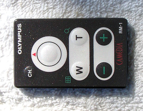 OLYMPUS (CAMEDIA)  Remote Control (ONLY) RM-1 TESTED/WORKING