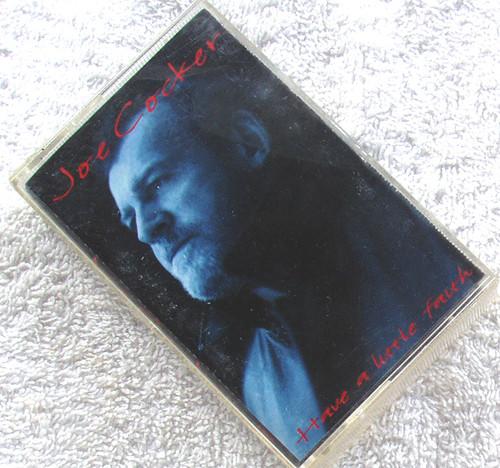 Blues Soul Pop Rock - JOE COCKER Have A Little Faith Cassette 1994