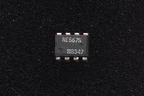 PHILIPS NE567N (Tone/Frequency Decoder .01Hz ~ 500kHz Range) NOS