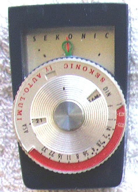 1963 ~ 1978 SEKONIC (Japan)  Model: LUM 1 #86 Manual Light Meter