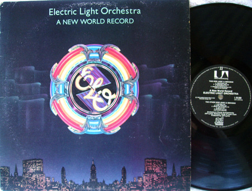 Symphonic Progressive Rock - ELO (ELECTRIC LIGHT ORCHESTRA) A New World  Vinyl 1976
