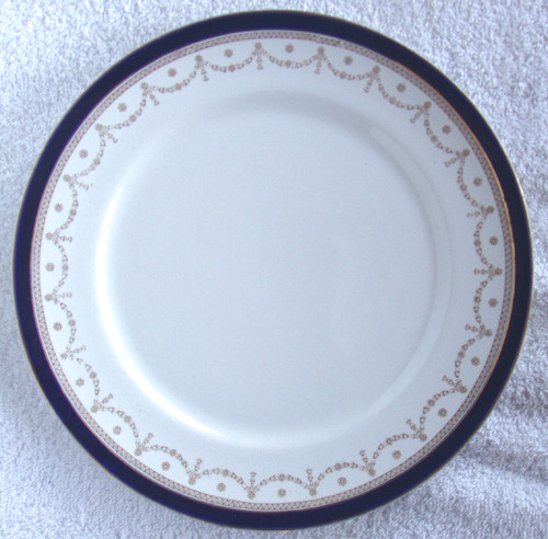 "ALFRED MEAKIN #1867 ""Bleu De Roi"" English Chinaware - 9.75"" (24.8cm) Dinner Plate"
